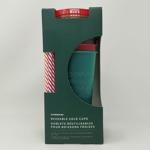 Starbucks Reusable Cold Cups Holiday '19 011107370